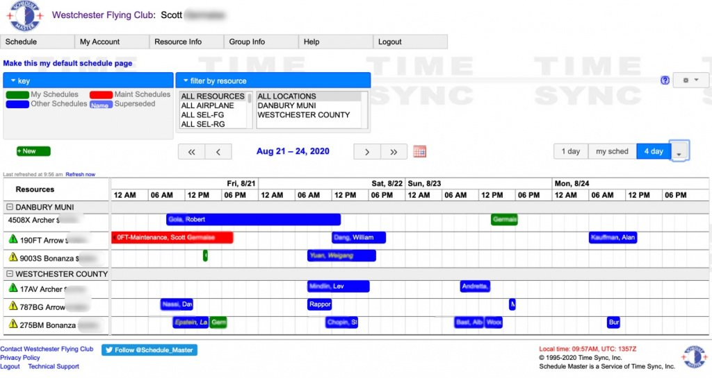 Scheduling System Image